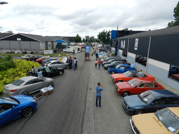 Internationaal Opel-Treffen 21 mei 2017 Dronten
